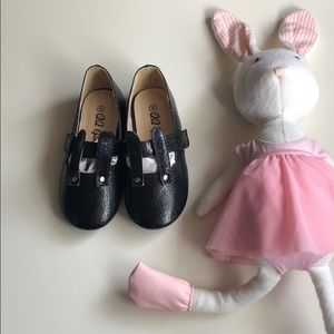 QQ Girls | Black Bunny Mary Janes | Toddler 8T